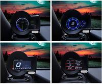 Car OBD2 Multi-function Gauge HUD Head-Up Digital Display Boost Data Scan Tool