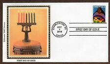 2016 KWANZAA HOLIDAY STAMP - COLORANO CACHET -  FIRST DAY COVER