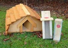 Casetta per riccio PLUS 2 Bird Feeder *** progettato e realizzato per paese VILLICI ***