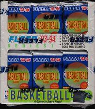 1993 Fleer Basketball S1 Factory Sealed JUMBO Cello BOX, 24 Packs Jordan PSA 10?