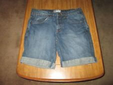 Cotton On Low Profile Denim Shorts Size 32