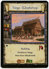 Siege Workshop (4) - Age Of Empires ECG CCG Card (C96)