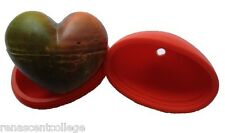 HEART 3D SILICONE MOULD: Soap Ice Chocolate - Amazing Cool, Cold Mold Large Size