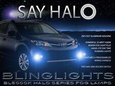 2013 2014 2015 Toyota Rav4 Halo Fog Lamps Angel Eye Driving Light Kit LE XLE