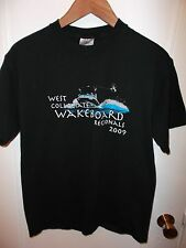 Wakeboarding 2009 West Collegiate Wakeboard Regionals USA Water Surf T Shirt Med