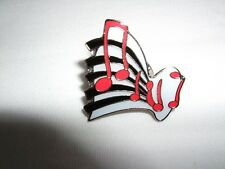 New MUSICAL NOTES Pin Badge