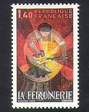 France 1982 Blacksmith/Forge/Handicrafts/Metalwork/Metals/Craft/Art 1v (n36957)