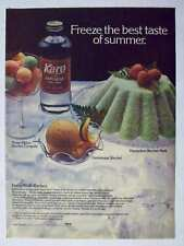 1978 Magazine Print Advertisement Page Karo Light Corn Syrup With Sugar Food Ad