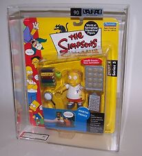 The Simpsons Martin Prince Action Figure Playmates 2001 Graded AFA 90 NM/MT