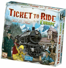 Ticket to Ride Board Game Europe Edition AU STOCK