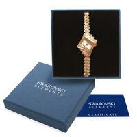 Orologio donna oro rosa Swarovski Elements originale G4Love cristalli strass