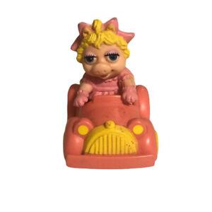 McDonalds Muppet Babies Miss Piggy - 1986 Happy Meal toys Muppets Set 1