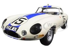"1963 JAGUAR LIGHTWEIGHT E-TYPE #15 ""CUNNINGHAM 5115 WK"" 1/18 BY PARAGON 98351"