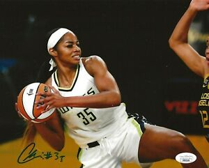 Charli Collier Texas signed Dallas Wings 8x10 photo autographed 2 JSA