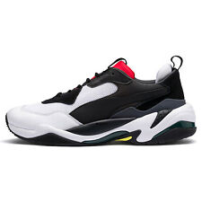 PUMA THUNDER SPECTRA Mens Athletic Shoes Casual Sneakers White Black - Size 10