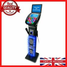 More details for professional karaoke machine system with screen microphones kareoke cd discs usb