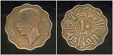 IRAQ  10 fils 1938 bronze
