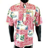 Vintage Reyn Spooner 1996 Mele Kalikimaka Christmas Hawaiian Shirt XL Limited