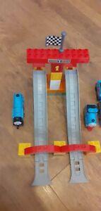 Thomas & Friends Megabloks Railway Race Day Incomplete
