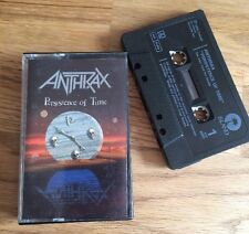 Anthrax - Persistence Of Time MC (Kassette,Tape, Sammlung,RARITÄT)