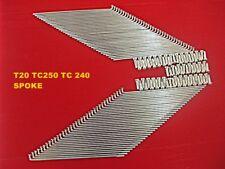 mi5038 SPOKE SET 72 Pcs. SUZUKI T20 T21 X6  FRONT /& REAR STEEL  WHEEL RIM