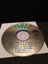 MONSTER MASH PARTY MUSIC (1998) CD