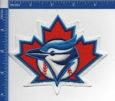 "Toronto Blue Jays patch Jay on Maple Leaf 1997 - 2002 NOS 4"" X 4 1/2"" NOS"
