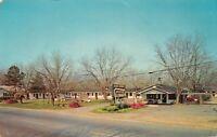 R E Drew Glass House Motor Lodge US 301 25 Glennville Ga Dexter