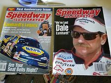 Speedway Illustrated Magazine Dale Earnhardt May and June 2001