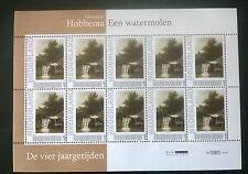 """Persoonlijke postzegels Vier Jaargetijden """"Een watermolen"""""""