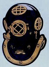 Navy Diver Metallic Helmet Decal
