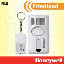 Friedland 90dB de seguridad detección sensor de movimiento PIR Sirena Alarma Inalámbrico + Control Remoto