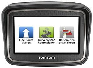 TomTom Rider V4 Motorradnavi XL Free Lifetime 3D Maps CE IQ kurvenreiche Routen