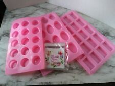 YGEOMER 3 PACK PINK SILICONE MOLDS