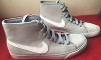 Nike Primo Court Mid-Tops Size 10 Suede Gray 630656-010 Ladies Casual Classic