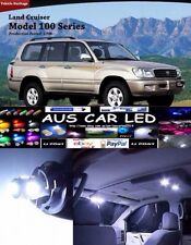 Toyota Landcruiser 100 Series GXL 2004 White LED Interior Light upgrade Kit