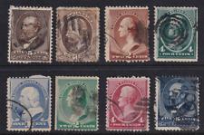 United States 1882-88  Lot  All Used  HICV
