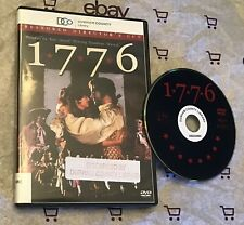 1776 (DVD, 1972, Restored Directors Cut) William Daniels | Peter Hunt