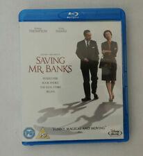 Saving Mr. Banks (Blu Ray, 2014) Disney Tom Hanks Emma Thompson