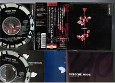 DEPECHE MODE Violator JAPAN 2CD ALFA ALCB-33 w/OBI+3 Booklets+Leaflet Free S&H