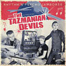 THE TAZMANIAN DEVILS - RHYTHM'N'PSYCHO JAMBOREE yellow LP Psychobilly Rockabilly