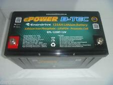 12v Lithium Battery 125ah CARAVAN SOLAR CAMPING 4X4 ENERDRIVE BLUETOOTH APP
