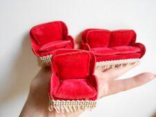 Salon de poupée ancienne miniature