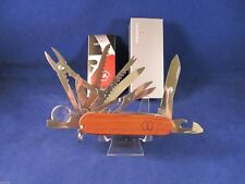 Swiss Army Swiss Champ Limited Edition Hardwood Model 53526 Mint In Box