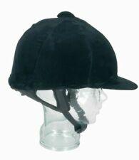 Champion Stretch Velvet Helmet Cover Riding Hat Silk - Medium Navy