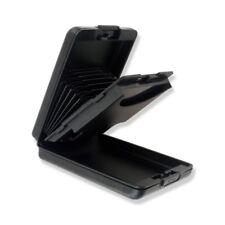 Portefeuille porte-cartes en aluminium Crédit Visite Pièces imperméable / Noir