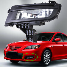 New Front Left Fog Lights Lamps MA2592113 Replacement for Mazda 3 2007 2008 2009