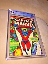 Captain Marvel #29, CGC 8.5, Off White to White Pages