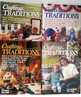 Lot of 4 Crafting Traditions Magazines 1997