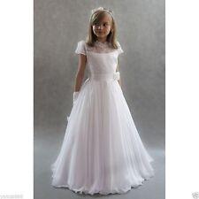 Communion Party Birthday Princess Pageant Bridesmaid Wedding Flower Girl Dress